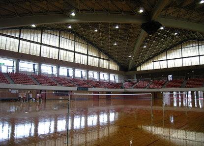 栃木県体育館でバドミントン!: ...